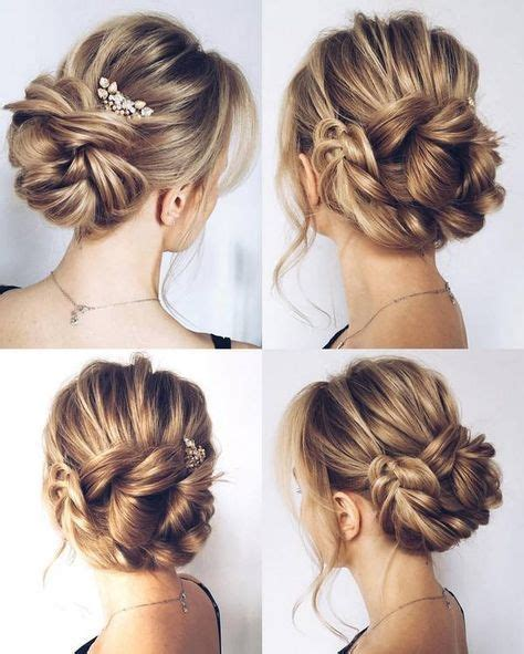 Wedding Hairstyles Buns Images by 532 Best Bridal Buns Images On Wedding