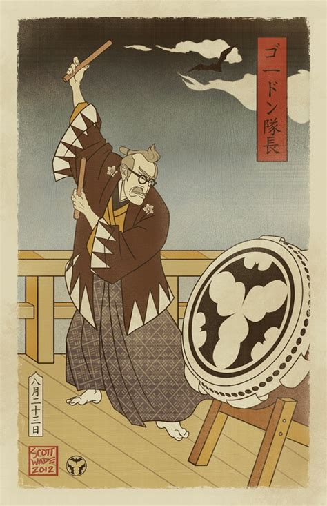 Batman Japan Logo 1 batman imagined in the style of japan