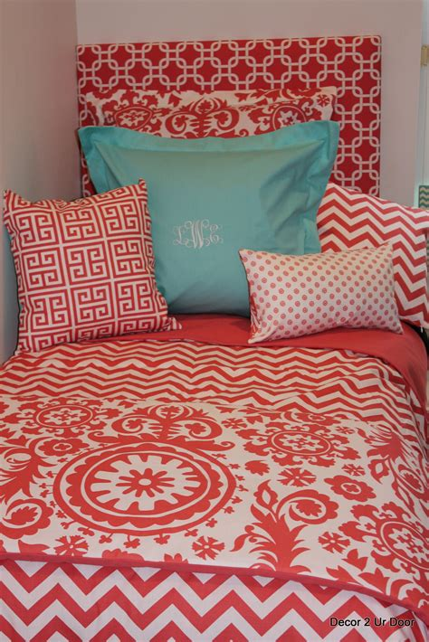 blue and coral bedding coral and tiffany blue bedding www imgkid com the image kid has it