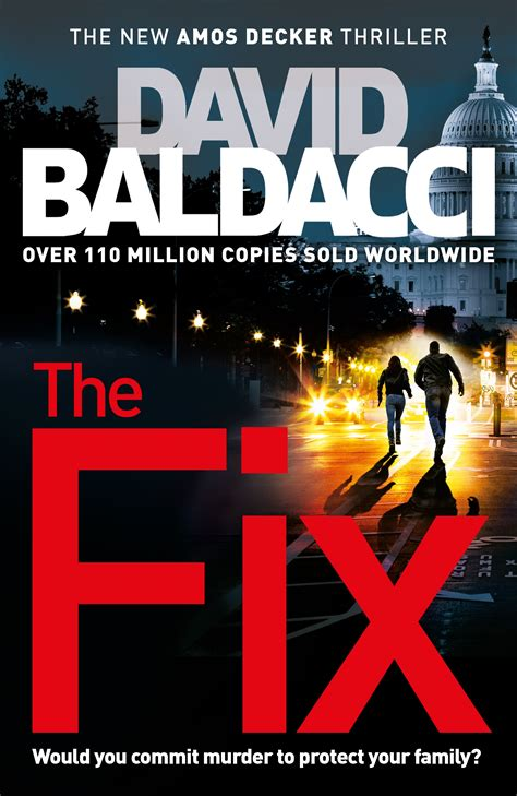 David Baldacci The Fix recommended reading from pan macmillan