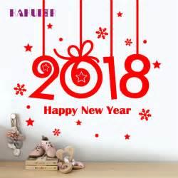 aliexpress com buy window stickers 2018 happy new year