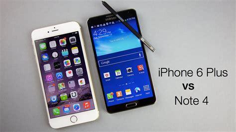 Sarung Iphone6 iphone 6 plus vs galaxy note 4 comparativa a fondo