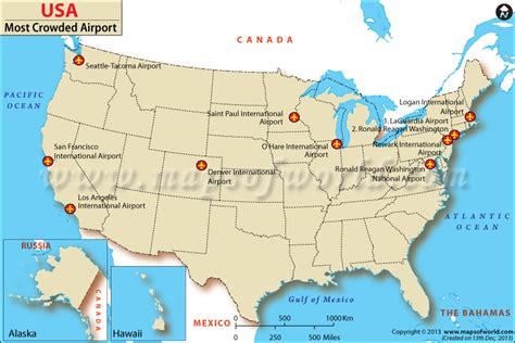 map usa states airports most crowded airports in the us during top 10