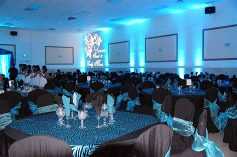 quinceanera themes for june a touch of class events co quinceanera blue black