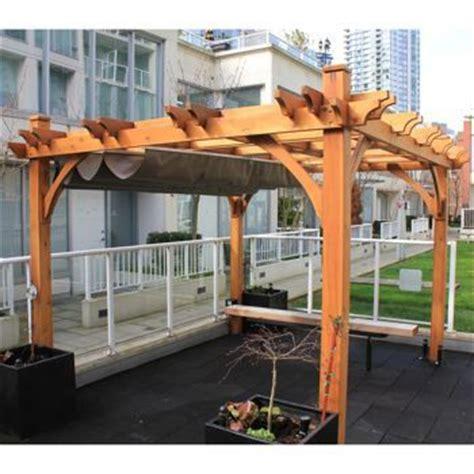 cedar pergola costco pergola with retractable canopy from costco patio and pergolas