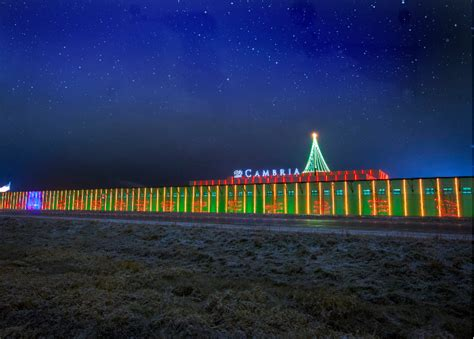 cambria spreads cheer with annual lighting
