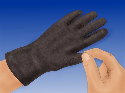 How To Make Gloves Out Of Paper - 3 ways to make leather gloves wikihow