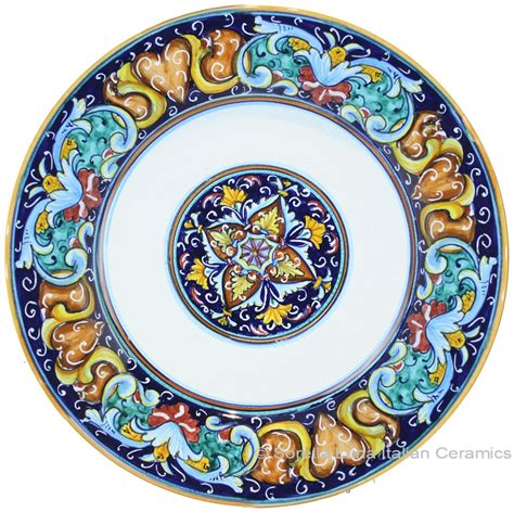 italian ceramic the maiolica pavement tiles of the fifteenth century with illustrations classic reprint books italian majolica pasta plate soup bowl