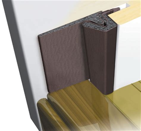 Acclimated Entry System Features Exterior Door Corner Seal Pads