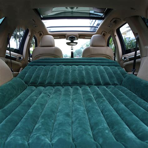back seat bed car suv back seat sleeping inflatable mattress bed with