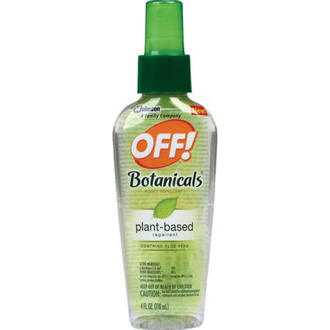 off botanicals insect repellent spray pest control