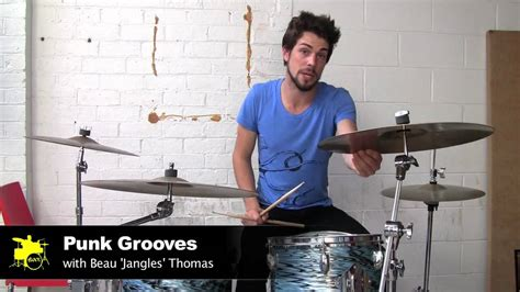 tutorial drum punk punk beats drum lessons youtube