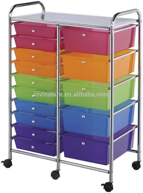 Organizer Cart On Wheels Plastic Storage Trolley To Storage Drawers On Wheels Buy