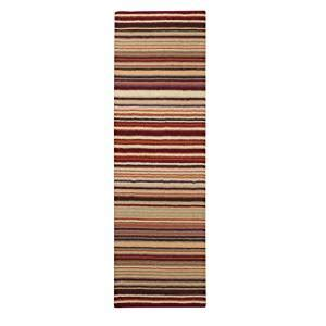 solid color rug runners area rug 2x8 runner solid striped burgundy color surya mystique rug from rugpal