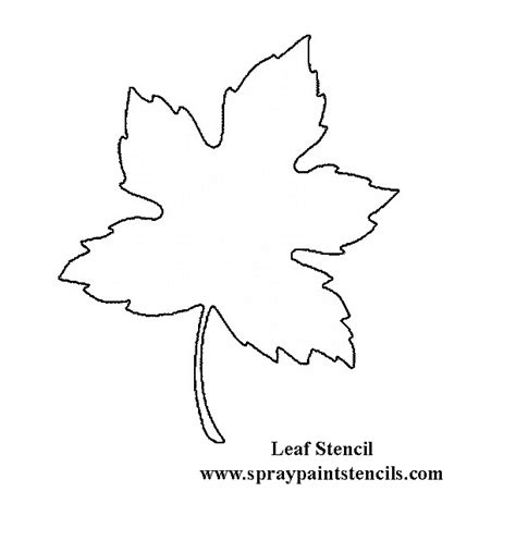 printable mural templates printable large flower leavestemplate leaf stencil not
