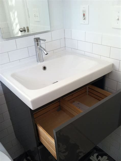 bathroom cabinet with sink and faucet ikea bathroom vanity loisaida nest