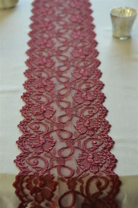 burgundy lace table runner burgundy wine lace table runners and lace table on