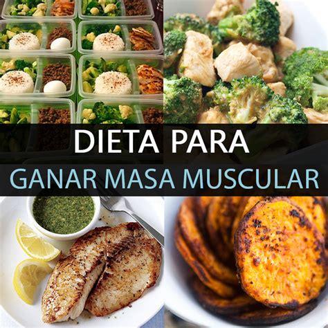 alimentos para subir masa muscular dieta para ganar masa muscular y 6 trucos que funcionan