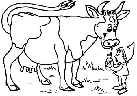 dairy cow coloring page free printable cow coloring pages for kids