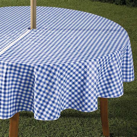 tablecloths for umbrella tables entertaining outdoor tablecloths home decoration