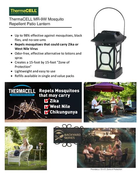 repelling mosquitoes backyard outdoor goods gogo papa
