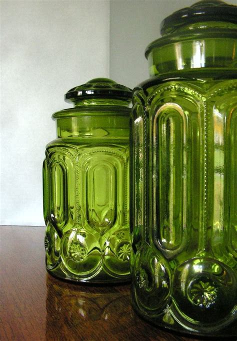 vintage glass canisters kitchen best 25 kitchen canisters ideas on