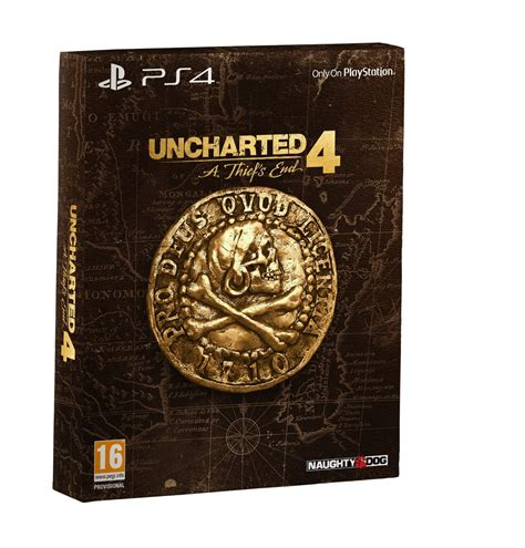 Unchartes 4 A Thiefs End Ps4 uncharted 4 a thiefs end special edition ps4
