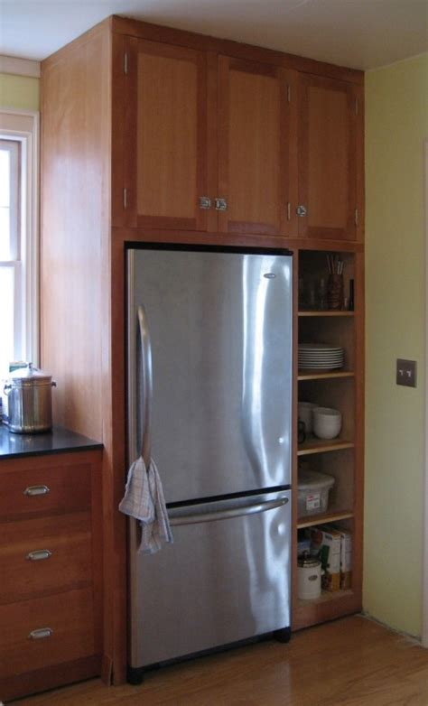 fridge kitchen cabinet my fridge with cabinets around it kitchens pinterest