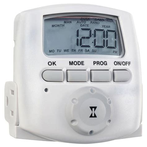 intermatic 15 amp heavy duty plug in digital timer dt620