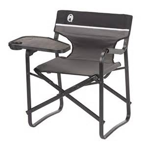 Ozark Folding Chair Coleman Camping Deck Chair With Swivel Table At Hayneedle