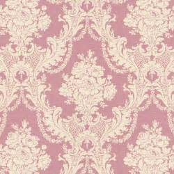 rose pink damask fabric by the yard pink fabric