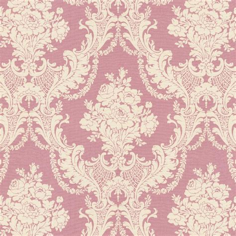 pink damask pattern rose pink damask fabric by the yard pink fabric