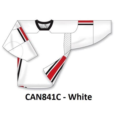 athletic knit canada blank 2008 team canada hockey jerseys ak can839c can840c