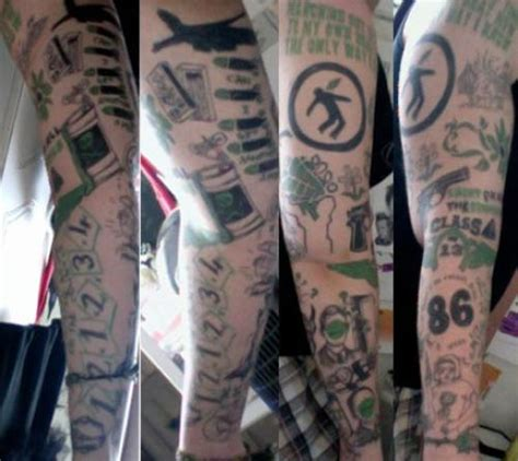 green day tattoos green day pictures fan tattoos