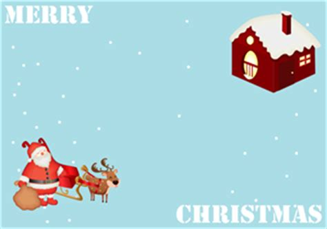 reindeer card template free vector and printable card templates