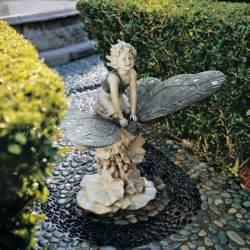 garden statue child mystical butterfly garden statue sculpture home decor products ebay
