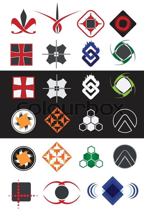 creative road design elements vector creative symbols design elements collection stock vector