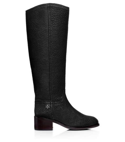 burch black boots burch fulton boot in black lyst