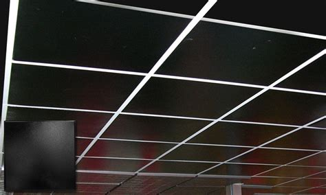 Black Suspended Ceiling Tiles by These Ceiling Tiles Are Actually Made Out Of Tin Can Come