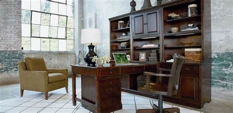 Thomasville Home Office Furniture Thomasville Workstyles Office Collection Demonstrates How Updated Traditional Works In The