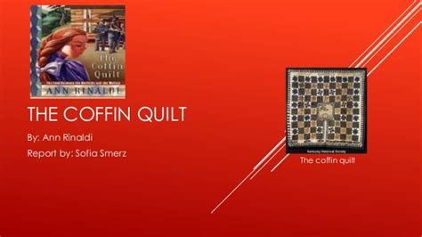 The Coffin Quilt Chapter Summaries the coffin quilt