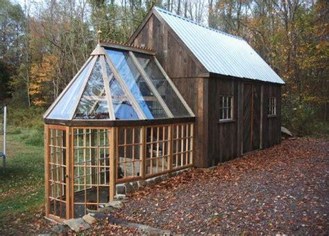 Tiny Home With Greenhouse Tiny Green House No Tiny Greenhouse
