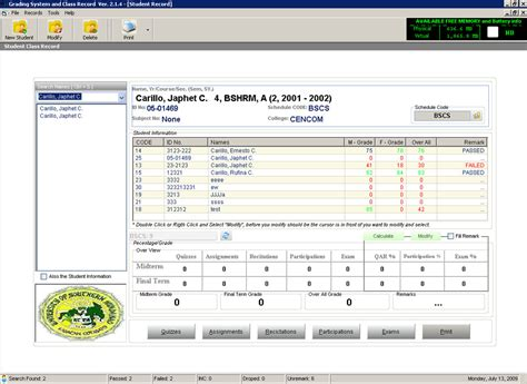 thesis abstract for grading system sle thesis for computerized grading system