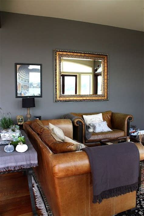 grey walls brown sofa best 25 brown leather sofas ideas on pinterest leather