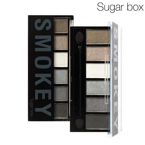 Eyeshadow 6 Color Ch1473 No 01 sugar box 6 colors eyeshadow palette glamorous smokey eye
