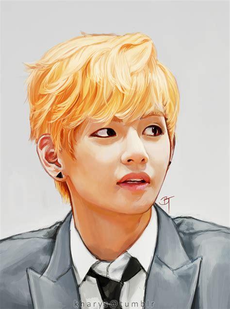 V Sketch Bts by Taehyung V By Kharys On Deviantart