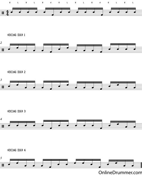 drum pattern lesson drum lessons how to create cool drum fills