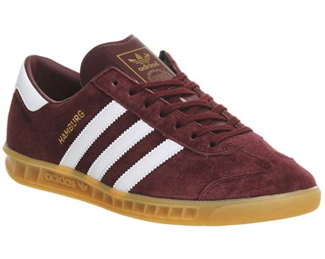 adidas hamburg collegiate burgundy gum exclusive trainers shoes ebay