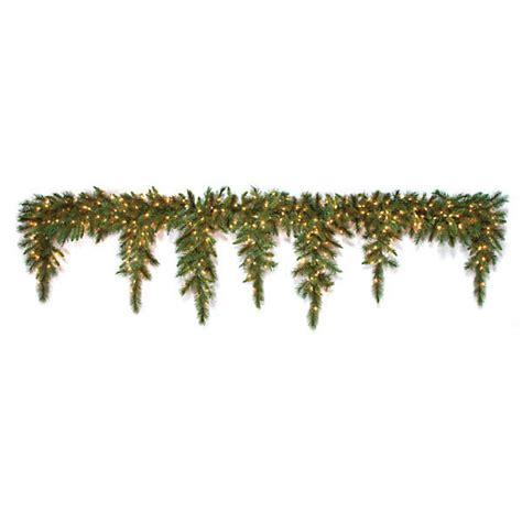 80 inch belgium icicle garland 300 warm white led lights
