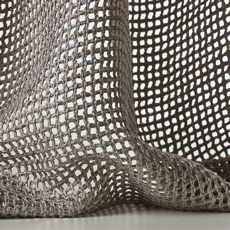 drapery material mesh sheer fabric for curtains tressage by dedar